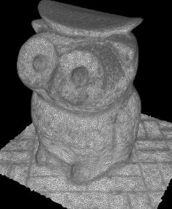 Owl Stool in Siu Hong gardens
