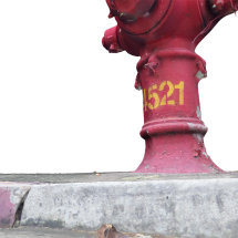 Fire Hydrant Red (4521)