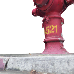 Red Fire Hydrant (4521)