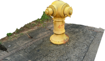 Fire Hydrant Yellow (4176)