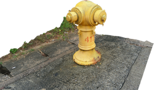 Yellow Fire Hydrant (4176)