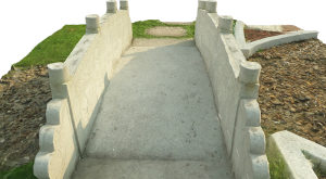 Bridge in the garden of Chung Shan San Hing Tsuen
