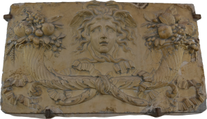 Plaster Mural at the museum of the Conciergerie