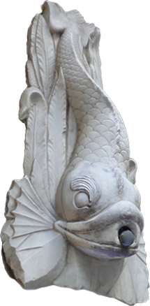 Marble Fish Fountain