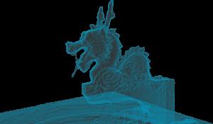 Wan Fou Sin temple - Dragon